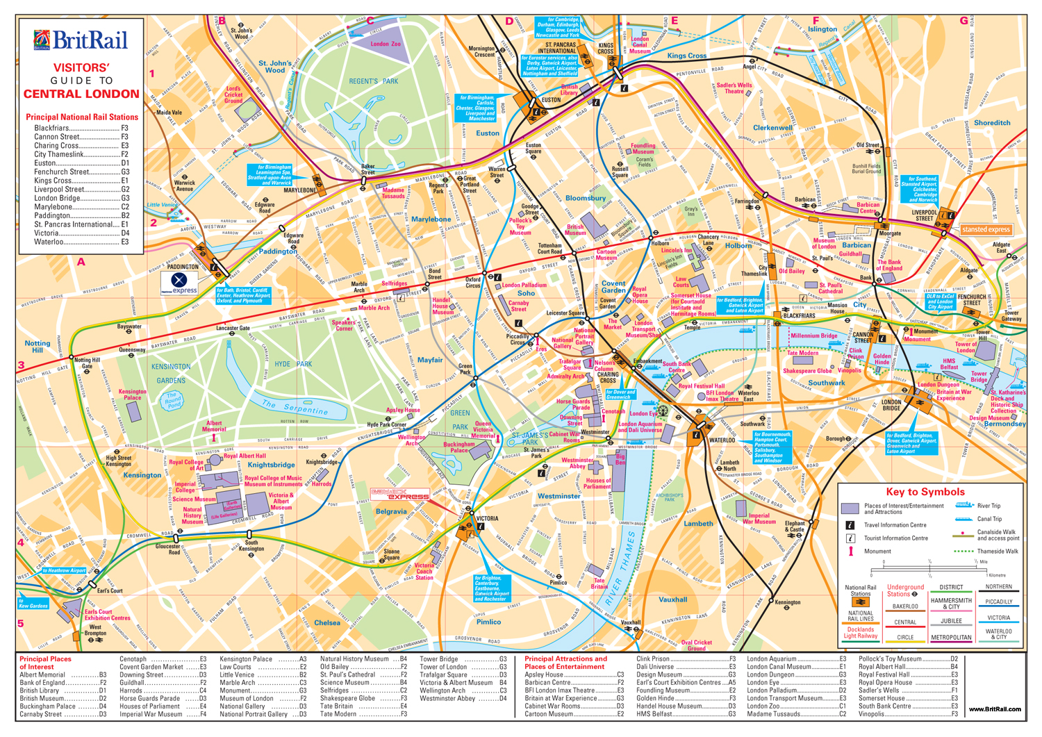 Map Of London Zone 1 – London Travel Zone Map